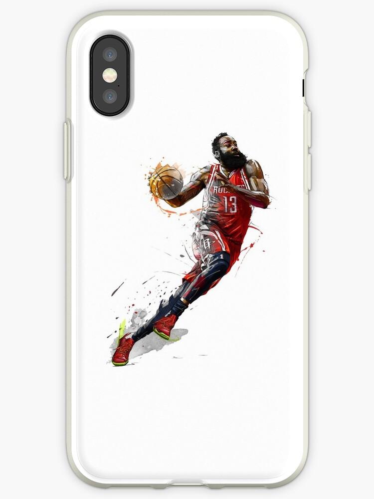 newest 34480 8341a 'james harden' iPhone Case by ferdytheterteen