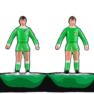 Ireland football subbuteo design by vancey73