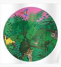 Turnover - Good Nature - Circle Art Poster