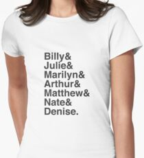 4e1cda124 Difficult People Characters Fitted T-Shirt