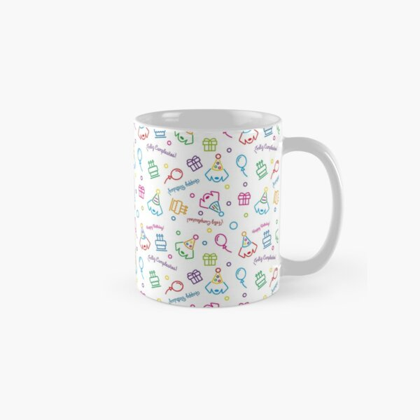 Happy Birthday Classic Mug
