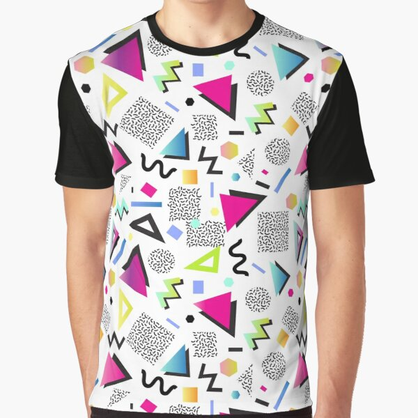 Memphis White Graphic T-Shirt