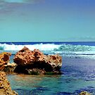 Surf at Trigg's by HG. QualityPhotography
