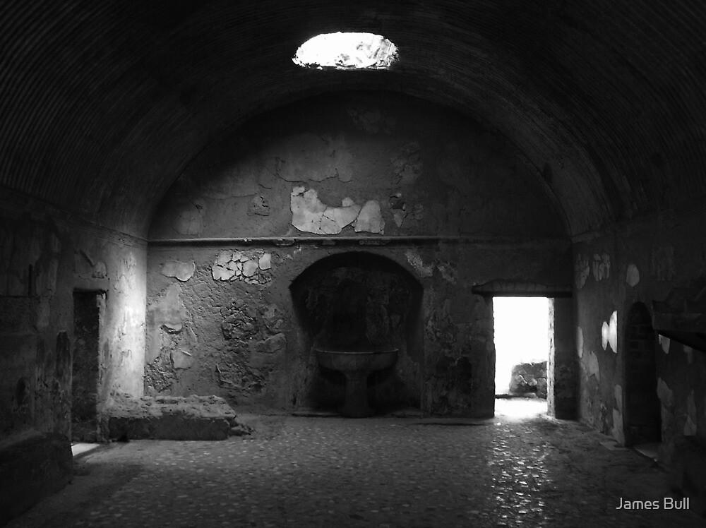 Roman Bath House, Pompeii by James Bull