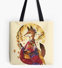 Maple Kitsune Tote Bag