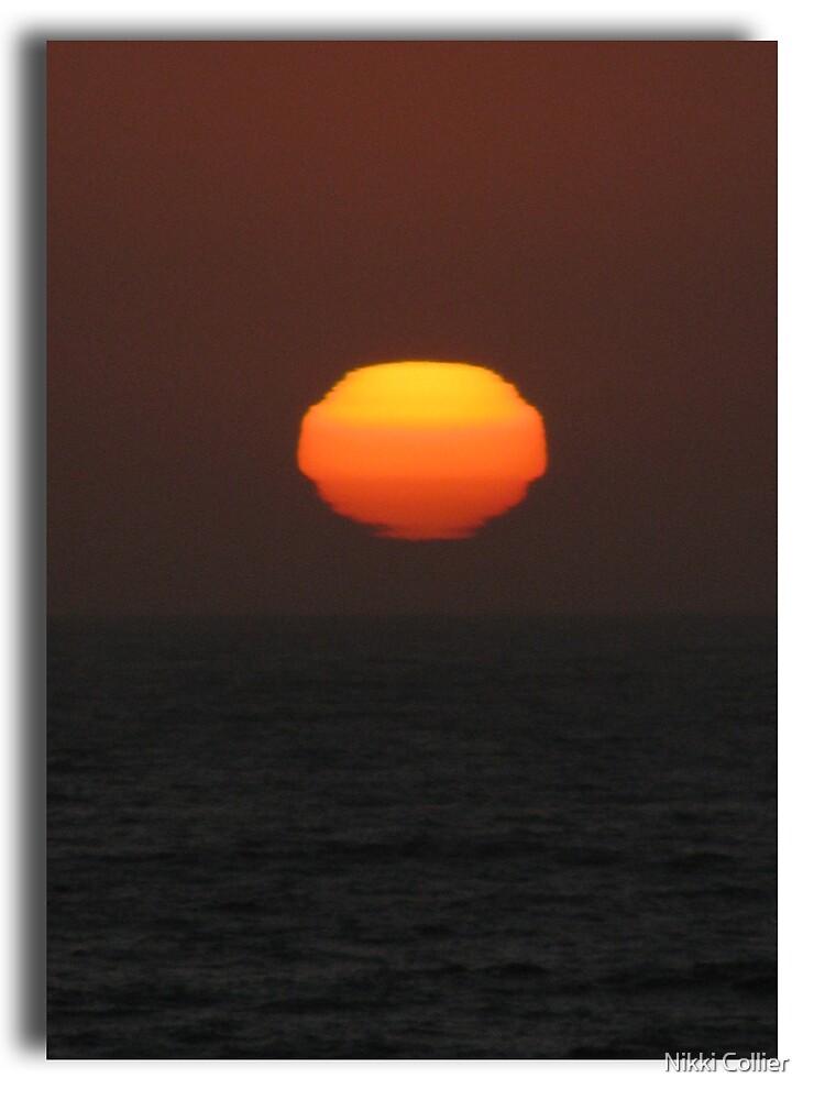 Halfmoon Bay Sunset  by Nikki Collier