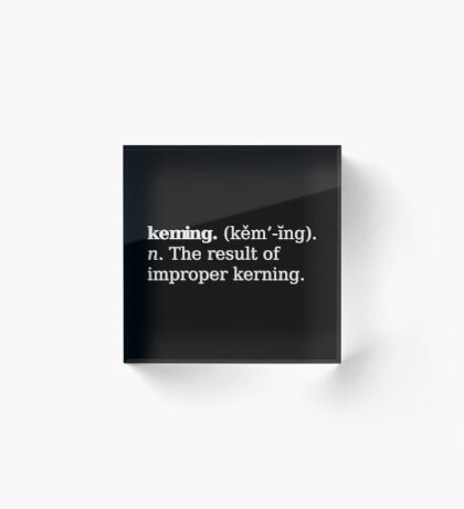 Keming Acrylic Block
