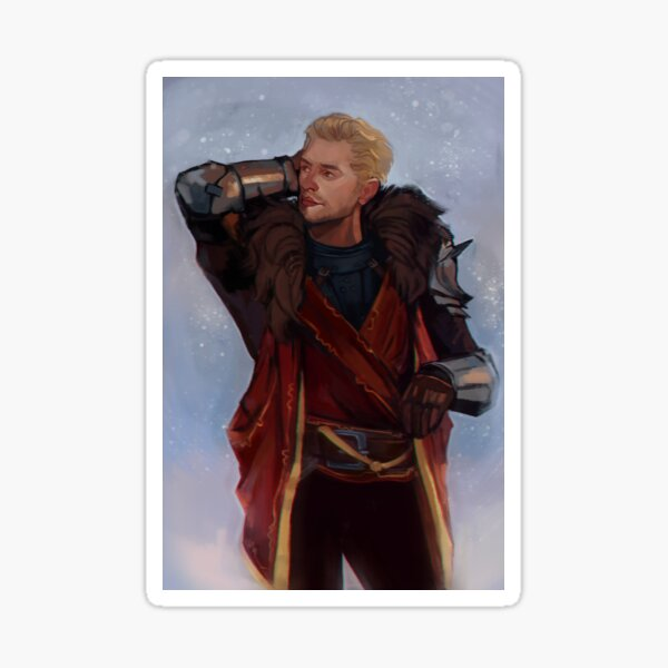 Cullen Rutherford Sticker