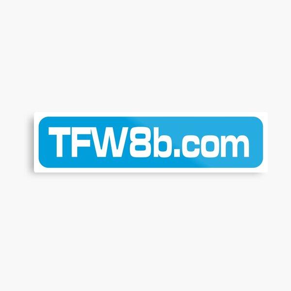 TFW8b.com logo Metal Print