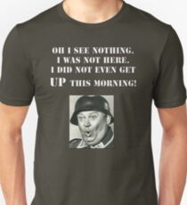 Sgt Schultz Hogan's Heroes Slim Fit T-Shirt