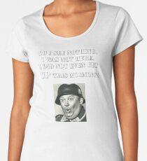 Sgt Schultz Hogan's Heroes Women's Premium T-Shirt