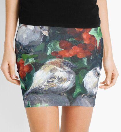 Bird Watching Mini Skirt