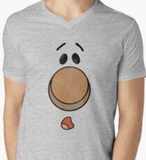 Brave Little Toaster - Blanket Face #3 Shirt Men's V-Neck T-Shirt