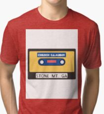 Childish Gambino Stone Mt. Cassette  Tri-blend T-Shirt