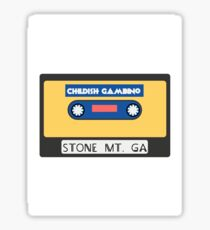 Childish Gambino Stone Mt. Cassette  Sticker