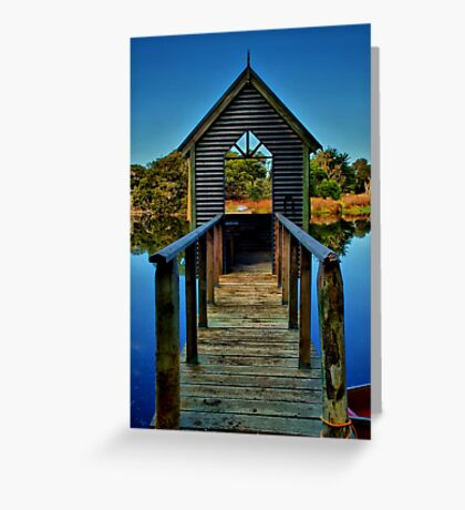 """""""Room With A View"""" Greeting Card"""