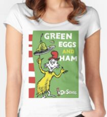 Green Eggs and Ham Women's Fitted Scoop T-Shirt