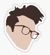 Morrissey Minimal Sticker