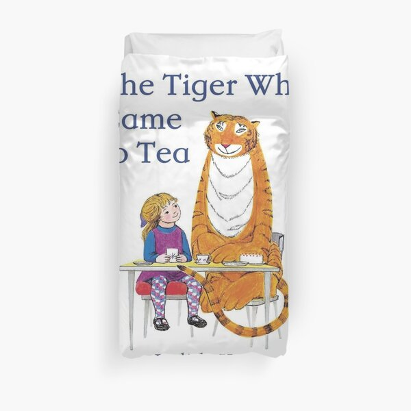 The Tiger Who came to Tea Duvet Cover