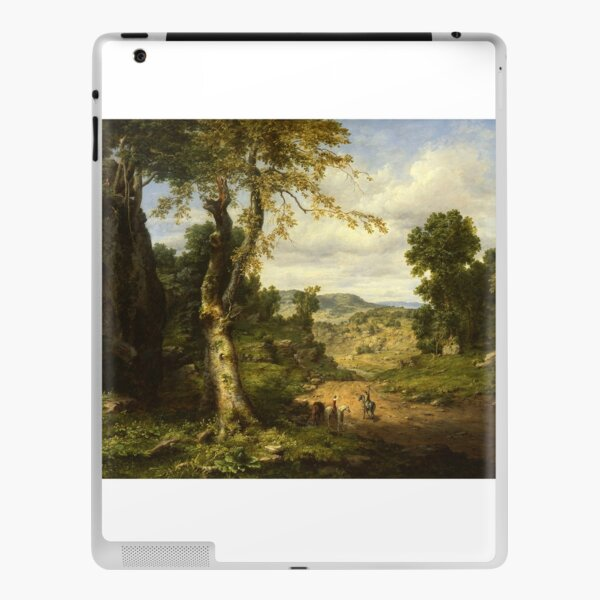 View in Berkshire County, Massachusetts by George Inness iPad Skin