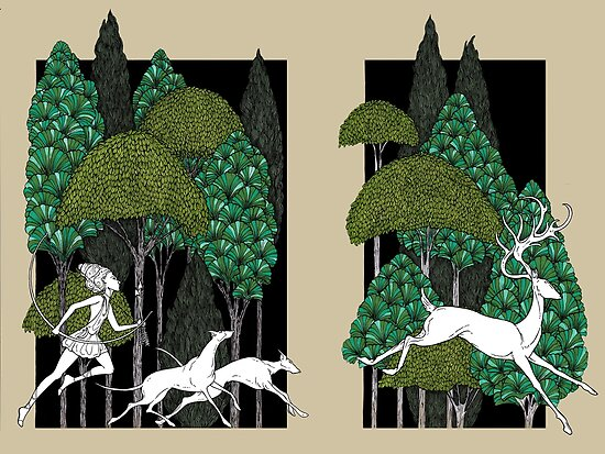 Artemis und die Jagd von Jessica Gadra