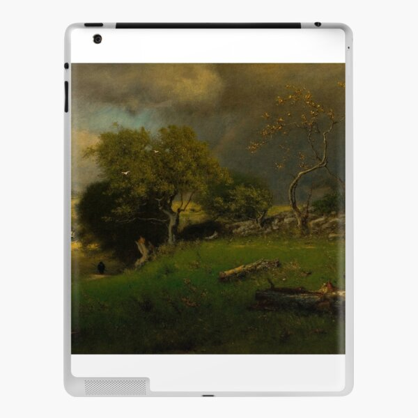 The Storm by George Inness iPad Skin