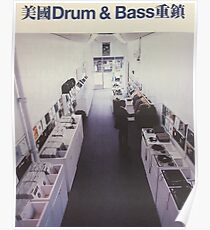 Póster Drum And Bass