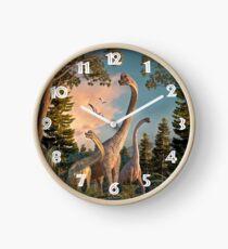 Brachiosaurus Spaziergang Uhr