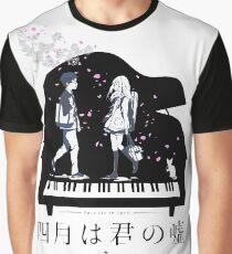 Shigatsu wa Kimi no Uso  Graphic T-Shirt