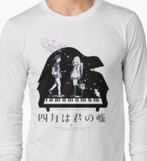 Shigatsu wa Kimi no Uso  Long Sleeve T-Shirt