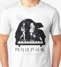 Shigatsu wa Kimi no Uso  Unisex T-Shirt