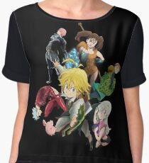 The Seven deadly sins Chiffon Top