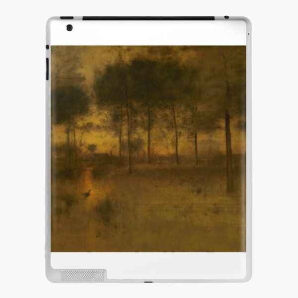 The Home of the Heron by George Inness iPad Skin