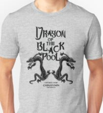 Dragon Of The Black Pool - Text Variant Unisex T-Shirt