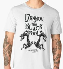 Dragon Of The Black Pool - Text Variant Men's Premium T-Shirt