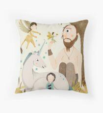 Weird and Wonderful Creatures  Throw Pillow