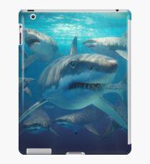 Great white sharks iPad Case/Skin