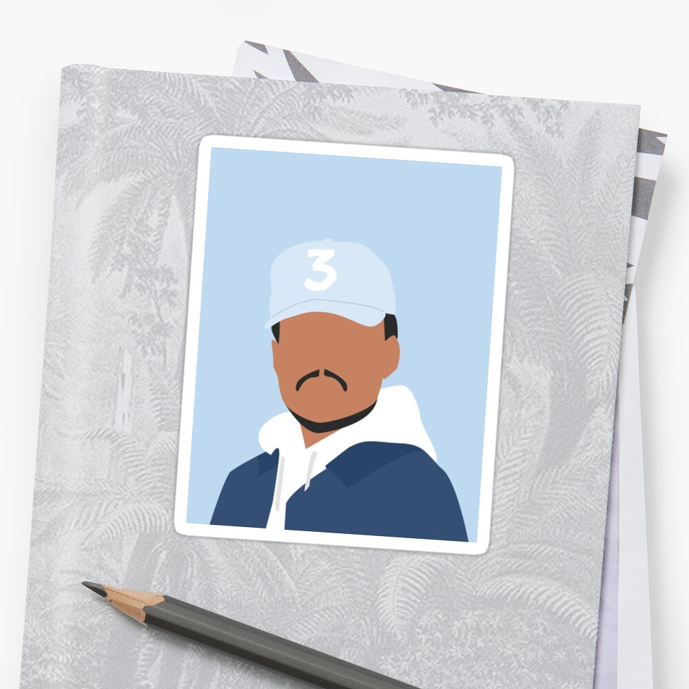 Chance der Rapper Sticker
