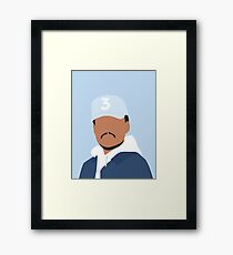 Chance the Rapper Vector Art Framed Print
