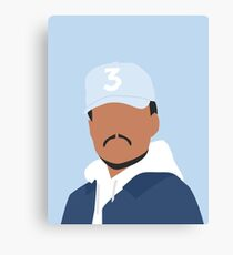 Chance the Rapper Vector Art Canvas Print