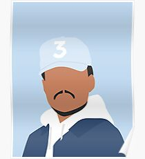 Chance the Rapper Vector Art Poster