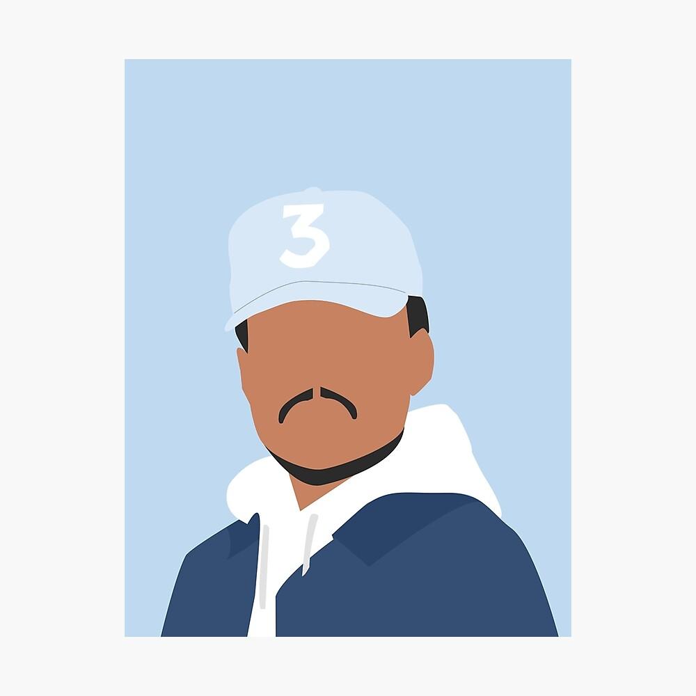 Chance der Rapper Fotodruck