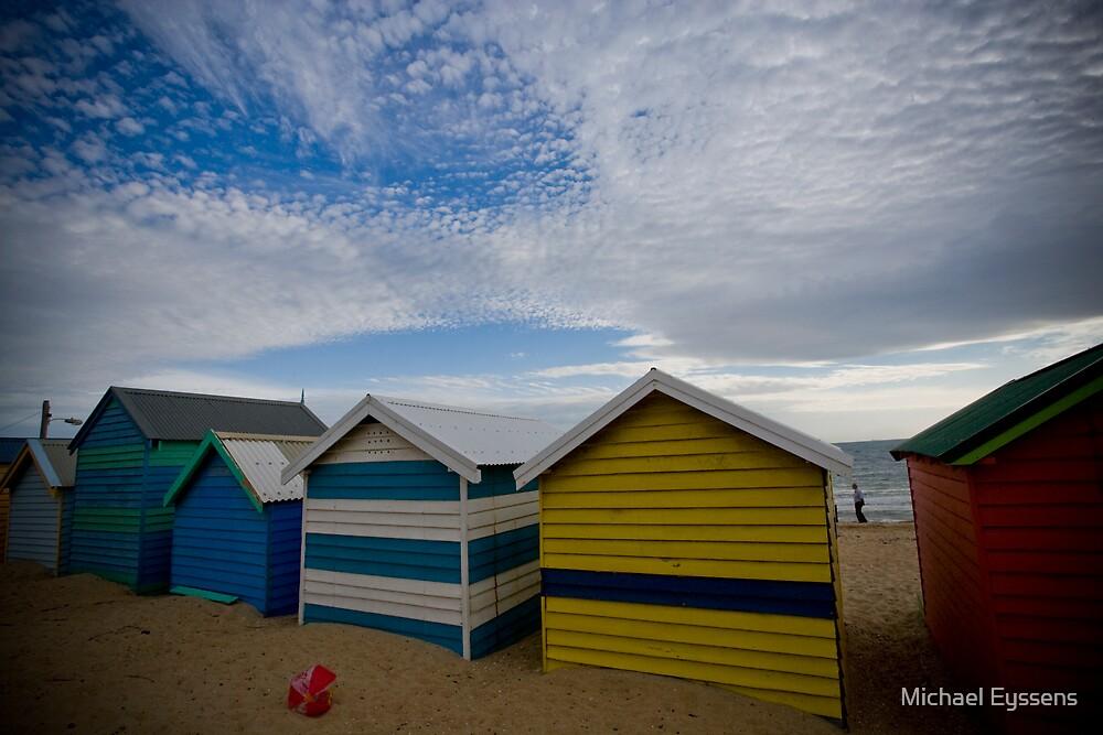 Beach Boxes by Michael Eyssens
