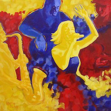 Red, Yellow and Blues by karenilari