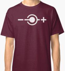 Centre Negative - White Classic T-Shirt