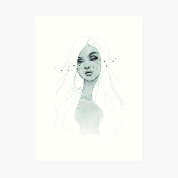 Starry Babe Art Print