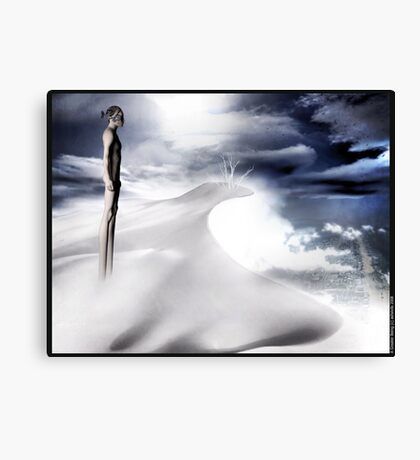 A Greater Being Canvas Print