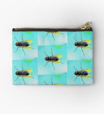 House Fly through a window Studio Pouch