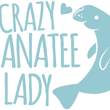 Crazy Manatee Lady by jazzydevil
