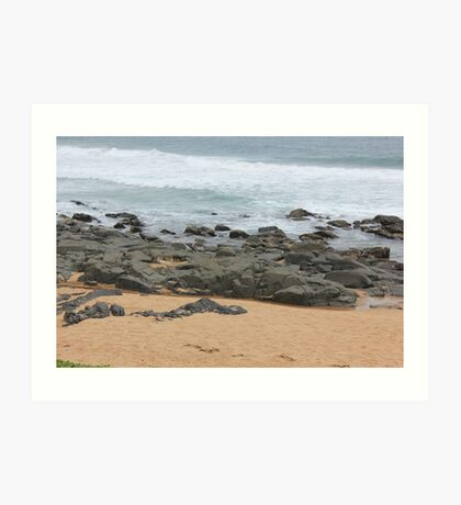 It was love at first sight... the day I met The Beach Art Print